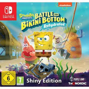 SpongeBob Squarepants: Battle For Bikini Bottom Rehydrated Shiny Edition - Nintendo Switch