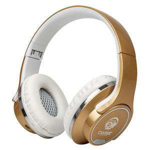Casque Bluetooth avec Micro Mydeejay Twist 2 in 1 - Or/Blanc
