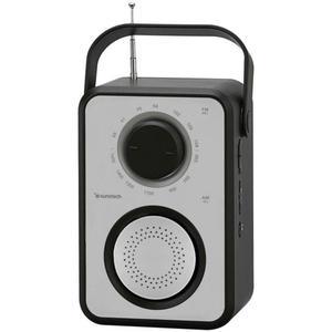 Radio Sunstech RPR1170SL - Schwarz/Silber
