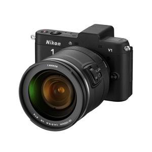 Hybrid Nikon 1 V1 - Musta + Objektiivi Nikkor 10-100mm f/4.5-5.6 VR + Objektiivi Nikkor 30-110mm f/3.8-5.6 VR