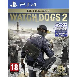 Watch Dogs 2 Edition Gold - PlayStation 4