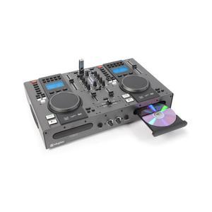 Platine CD Skytec STX-95 Double lecteur COMBO & Mixeur CD-USB-MP3 Auto Cue