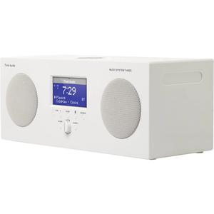 Wekkerradio Tivoli Audio Model Three BT - Wit