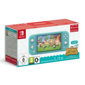 Console Nintendo Switch Lite -Turquoise + Animal Crossing New Horizons