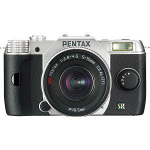 Hibryde camera Pentax Q7 -Zwart/Zilver + lens Pentax 5-15mm f/2.8-4.5 Zoom