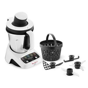 Robot multifunzione MOULINEX HF404117 Bianco/Nero