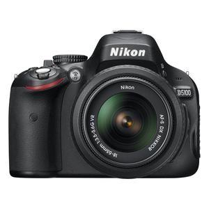 Spiegelreflexkamera Nikon D5100 Schwarz + Objektiv Nikon AF-S DX Nikkor 18-55 mm f/3.5-5.6G VR