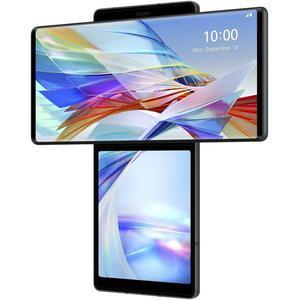 LG Wing 5G 128GB Dual Sim - Harmaa - Lukitsematon