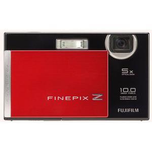 Kompaktkamera Fujifilm Finepix Z200 FD Schwarz/Rot + Objektiv Fujifilm Fujinon Optical Zoom 33-165 mm f/3.8-4.8