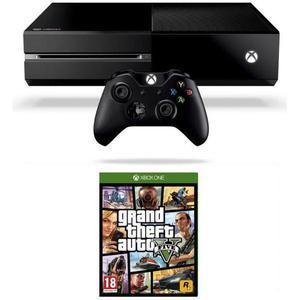 Microsoft Xbox One 500 Go Noir + Jeux GTA 5