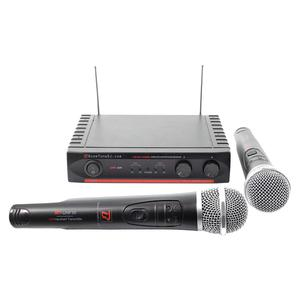 Draadloos microfoonsysteem BoomTone DJ UHF 20M F5 F6 - Zwart