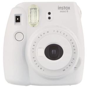 Cámara instantánea Fujifilm Instax Mini 9 - Gris + lente Fujifilm Instax Lens Focus Range 60 mm f/12.7