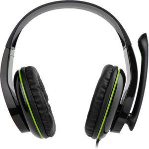 Cuffie Riduzione del Rumore Gaming con Microfono Aaamaze AMGT0001 - Nero/Verde