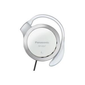 Casque Panasonic RPHS47EW Clip - Blanc/Gris