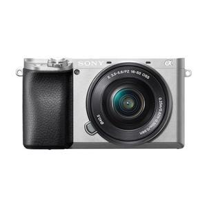 Hybrid-Kamera Sony α6000 Silber + Objektiv Sony E 16-50 mm f/3.5-5.6