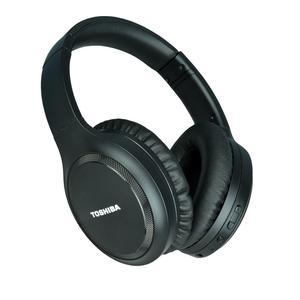 Casque Réducteur de Bruit Bluetooth avec Micro Toshiba RZE-BT1200H-BLK - Noir