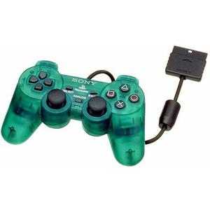Manette Sony DualShock 2 - Vert