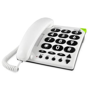 Téléphone fixe Doro PhoneEasy 311c - Blanc