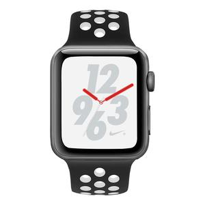 Apple Watch (Series 4) September 2018 44 mm - Aluminium Space Grau - Armband Nike Sportarmband