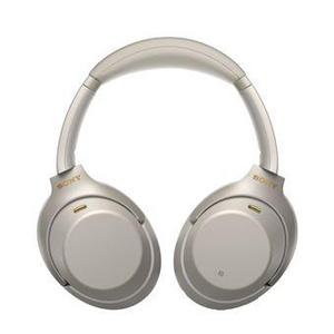 Casque Réducteur de Bruit Bluetooth avec Micro Sony WH-1000XM3 - Argent