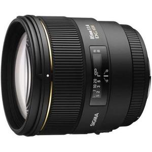 Objectif Sigma 85mm F/1.4 EX DG HSM monture Canon