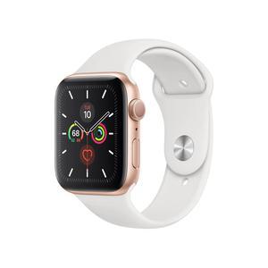 Apple Watch (Series 5) Settembre 2019 40 mm - Alluminio Oro - Cinturino Sport Bianco