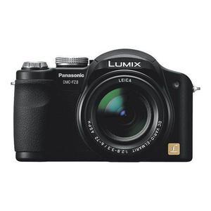 Compact - Panasonic Lumix DMC-FZ8 Noir Panasonic Panasonic DC Vario-Elmarit ASPH 12x Optical Zoom Lens 6-72mm f/2.8-3.3
