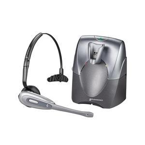 Kopfhörer Bluetooth mit Mikrophon Plantronics CS60 - Grau
