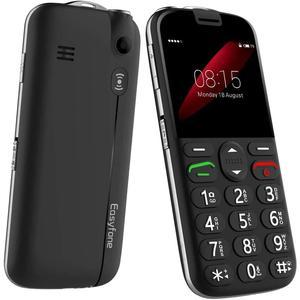 Easyfone Prime A4 - Nero- Compatibile Con Tutti Gli Operatori