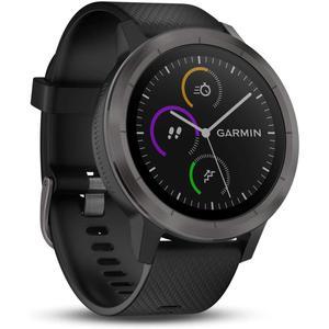 Montre Cardio GPS Garmin Vívoactive 3 - Gris/Noir
