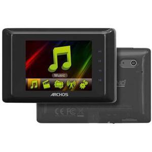 Lettori MP3 & MP4 8GB Archos 24D Vision - Nero