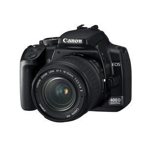 Reflex - Canon EOS 400D Noir Canon EF-S 18-55mm f/3.5-5.6 II