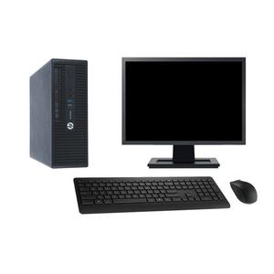 """Hp ProDesk 400 G3 SFF 22"""" Core i7 3,4 GHz - HDD 2 To - 16 Go AZERTY"""