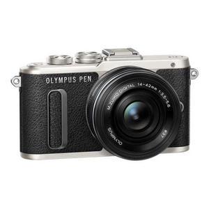 Hybrid-Kamera Olympus Stift E-PL8 Grau/Schwarz + Objektiv M.Zuiko Digital 14-42 mm f/3.5-5.6 ED EZ