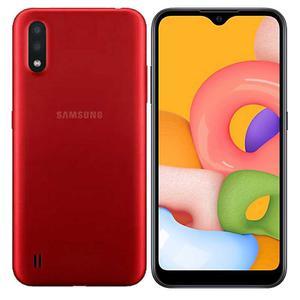 Galaxy A01 16 GB - Vermelho - Desbloqueado