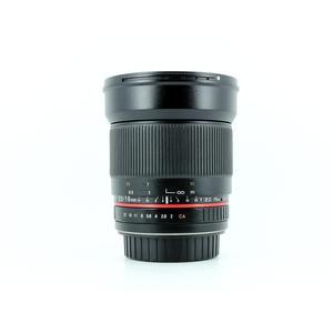 Samyang f/2.0 - 16mm