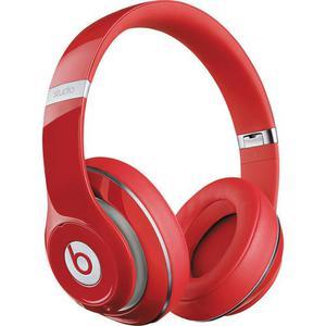 Kopfhörer Rauschunterdrückung mit Mikrophon Beats By Dr. Dre Beats Studio 2 - Rot