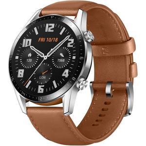 Montre Cardio GPS Huawei Watch GT 2 - Marron