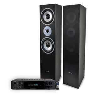 Barre de son Ltc Pack Hifi / Home-Cinéma L766-BK + amplificateur 2 x 50W ATM6000BT - Noir