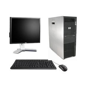 """Hp Z600 23"""" Xeon 2,26 GHz - SSD 256 Go - 16 Go AZERTY"""