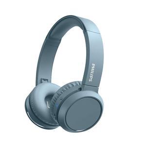 Casque Réducteur de Bruit Bluetooth avec Micro Philips TAH4205BL/00 - Bleu