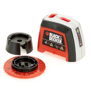Nivel Láser Black & Decker BDL120 Negro/Naranja