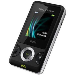Sony Ericsson W205 - Schwarz/Grau- Ohne Vertrag