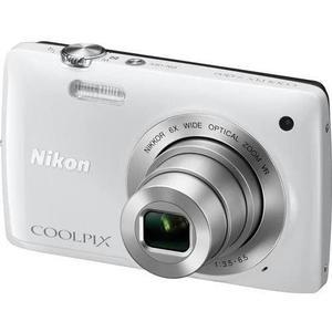 Comaptta Nikon Coolpix S4300 - Bianco + Nikkor 6X Wide Optical Zoom VR 4.6 - 27.6mm f/3.5 - 5.6