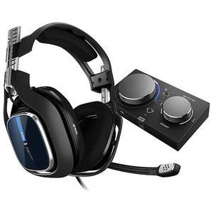 A40 TR + MixAmp Pro PS4/PC Geluidsdemper Gaming Hoofdtelefoon - Microfoon Zwart