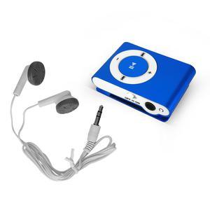 Lecteur MP3 & MP4 Noname Mp3 Music player with Go - Bleu