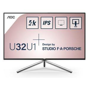 "Bildschirm 31"" LED 4K UHD Aoc U32U1"