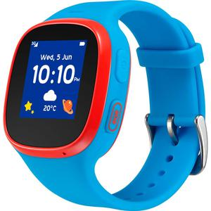 Montre Cardio GPS Tcl Movetime Family Watch MT30 - Bleu/Rouge