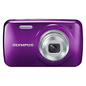 Compact - Olympus VH-210 Mauve Olympus Olympus Lens 5x Wide Optical Zoom 4.7-23.5 mm f/2.8-6.5