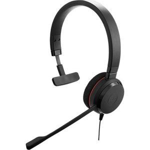 Kopfhörer Rauschunterdrückung mit Mikrophon Jabra Evolve 20SE MS Mono - Schwarz